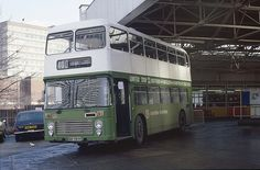March 1983 - The old Southend Victoria Bus Station. Now gone.