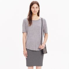 Anthem Curved-Hem Tee : AllProducts | Madewell