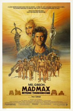 Mad Max: Beyond Thunderdome posters for sale online. Buy Mad Max: Beyond Thunderdome movie posters from Movie Poster Shop. We're your movie poster source for new releases and vintage movie posters. Poster S, Movie Poster Art, 80s Movie Posters, Queen Poster, Poster Prints, Action Film, Action Movies, Movies Showing, Movies And Tv Shows