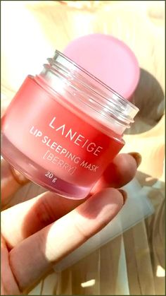 Laneige lip sleeping mask in berry #texturetesday I have been loving this laneige lip sleeping mask in berry. It smells of delicious strawberries, melts onto your lips and leaves your lips hydrated when you wake in the morning. I personally put this on whenever my lips feels a bit parched and it does wonders • To attract a new lover, light a red candle to St. Barbara and ask her to make you attractive to your soulmate. • To keep you on your lover's mind, do this after each time you part… Beauty Care, Beauty Skin, Beauty Hacks, Lip Sleeping Mask, Lip Mask, Laneige, Mode Inspiration, Skin Makeup, Makeup Products
