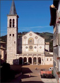 SPOLETO, UMBRIA, ITALY