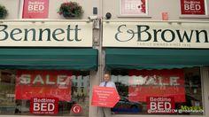 Bennett & Brown Gravesend Image Shows, The Locals, Bedtime, Flooring, Brown, Wood Flooring, Brown Colors, Floor