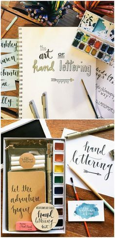 Learn the art of hand lettering.