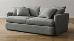"""Lounge II 83"""" Sofa availabel at Crate and Barrel now"""