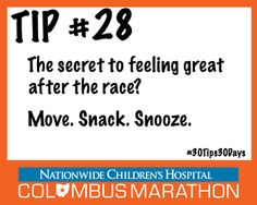 Tip #28: Post-Race Recovery Tips from Dr.Bright #30Tips30Days