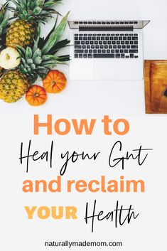 If you have signs and symptoms like bloating, fatigue that won't go away, brain fog, depression, anxiety, or joint pain, you may have leaky gut. Learn about the foods that heal your gut and reduce inflammation so you can feel well again. Health And Wellness, Health Fitness, Mental Health, Gut Inflammation, Improve Gut Health, Fruit Benefits, Turmeric Tea, Healthy Tips, Natural Health