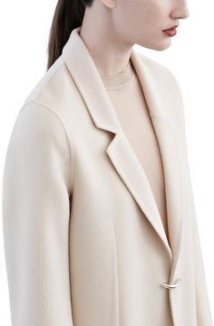 Acne Studios -  Foin doublé nougat beige - Coats & jackets - SHOP WOMAN - Shop Shop Ready to Wear, Accessories, Shoes and Denim for Men and Women
