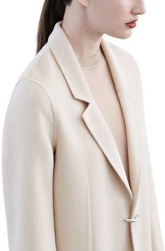Acne Studios -  Foin doublé nougat beige - Coats & jackets - SHOP WOMAN - Shop Shop Ready to Wear, Accessories, Shoes and Denim for Men and Women