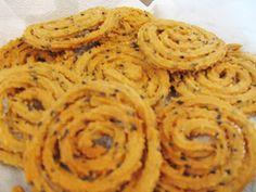 Wheat Flour Murukku - without steaming the flour.