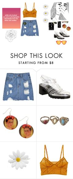 """still feeling your kiss//virgo"" by wallowingwillow ❤ liked on Polyvore featuring Chicnova Fashion, JuJu, Kate Spade Saturday, Intimately Free People, grunge, zodiac, Virgo and sign"