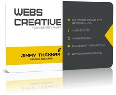 Business Card By Jimmy Thakkar