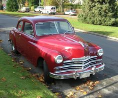 1949 Plymouth P-18 Special Deluxe Club Coupe