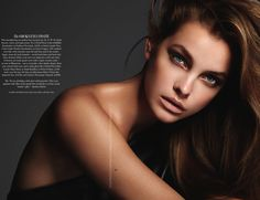 harper bazaar beauty pages | ... beauty pages of British Harper's Bazaar with a shoot by Jonas Bresnan