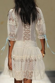 Blugirl, wonderful beachy dress, coverup~can go anywhere~super cute and easy to wear!!