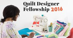 We're thrilled to announce our first-ever Quilt Designer Fellowship, a design competition with one-of-a-kind prizes. Submissions are due July check out all the rules and details today! Quilting Room, Quilting Tips, Quilting Projects, Quilting Designs, Accounting Programs, July 5th, Design Competitions, Quilt Patterns, Tutorials