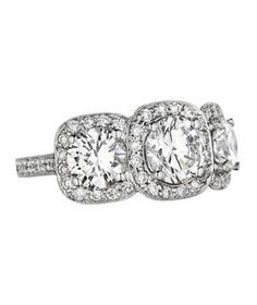 71 Unique Engagement Rings | From asscher to round, take a peek at the elegant options for engagement rings.