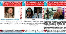 Buscan a tres mujeres desaparecidas en los últimos días en Asturias