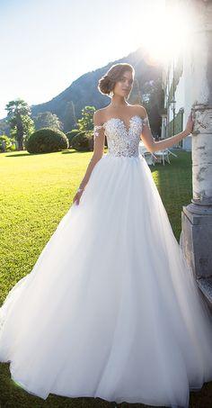 Milla Nova Bridal 2017 Wedding Dresses dairy / http://www.deerpearlflowers.com/milla-nova-2017-wedding-dresses/10/