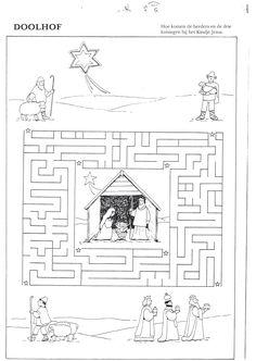labyrinth #advent #calendar