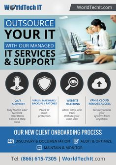 Create a Lead Generating Flyer/Postcard for a Managed IT services Company by Chakradhar