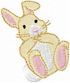 SewAZ, Bunny Baby, Designs In Machine Embroidery