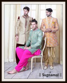 Groom And Baraat Collection 2017  Shop Online at www.sugnamal.com Order on call: 0522-4005453 Order on whatsapp: 8418888893 #new_arrivals #ethnic #couture  #sherwani #kurta_pajama #Bundi_sets #premium_suiting_and_shirting #kids_ethnic_wear #silk #contrast #velvet #art_silk #semi_silk #saree #suits #lehenga #gowns #kurti #indowestern #bridal #zari #chanderi #sherwani #suiting #shirting #new_arrival #fresh #reasonable #happy_cutomers #shop_india #sugnamal_india #new_design #new_colors #blue…