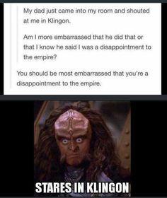 Memes that make you LOL IRL - Page 123 - geek culture - Star Trek Meme, Funny Star Trek, Star Trek Quotes, Geek Culture, Pop Culture, I Am A Disappointment, Deep Space Nine, Starship Enterprise, Great Memes