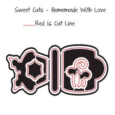 Homemade With Love Sweet Cuts -   www.papersweeties.com