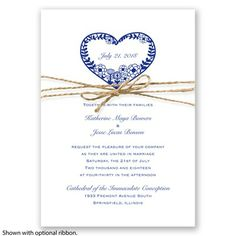 Natures Heart - Regency - Invitation