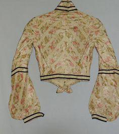 1900s Fashion, Edwardian Fashion, Edwardian Gowns, Spring Blouses, Silk Taffeta, Green Silk, High Collar, Pretty Dresses, Bodice