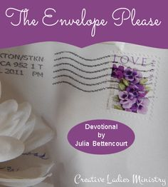 The Envelope Please  - Gods Love Devotional for Christian Women:  by Julia Bettencourt, Creative Ladies Ministry
