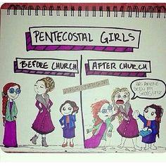 Hahahaha YESSSS United Pentecostal in Jesus name!!