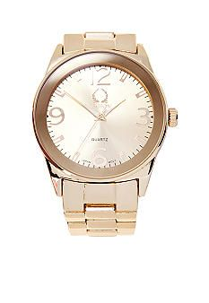 Legion Gold Metal Bracelet Watch #belk #accessories