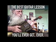 THE BEST BLUES GUITAR LESSON! [FUNNY!] - YouTube