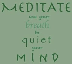 Breath in let, breath out go For a free guided #meditation from Dr. Romie: visit www.brainbodybeauty.com