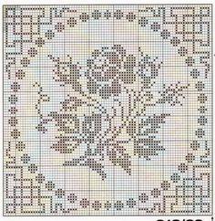 Kira scheme crochet: Scheme crochet no. 751