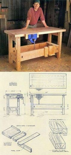 Making a Workbench - Workshop Solutions Projects, Tips and Tricks | WoodArchivist.com