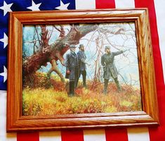 Manassas, Robert E Lee, Stonewall Jackson, Longstreet Antique Picture Frames, Antique Pictures, Wood Picture Frames, Picture On Wood, Robert E Lee, Gettysburg Pennsylvania, Vinyl Poster, Stonewall Jackson, American Civil War