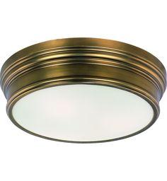 $258 Lamps.com - Maxim Lighting - Fairmont 16 Inch 3 Light Flush Mount | Lamps.com