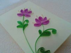 MH002 Quilling flower