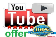 Special YouTube Likes Offer for $5