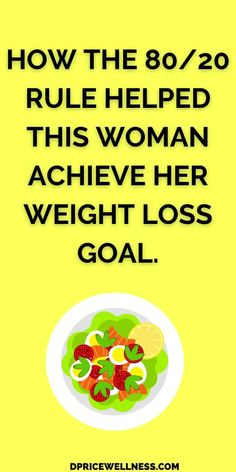 Here is an effective weight loss diet that will not restrict what you can eat. #weightloss #diet #dietplan Lose Weight In A Week, Diet Plans To Lose Weight, Losing Weight Tips, How To Lose Weight Fast, Weight Loss Goals, Weight Loss Tea, Weight Loss For Women, 80 20 Diet, Flexible Dieting