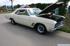 1967 Buick GS 400. As seen at the August 2013 Cars and Coffee show in Austin TX USA.