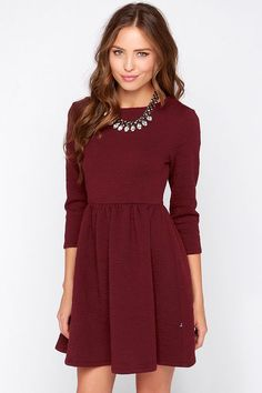 Great long sleeve work dress!