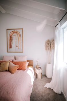 Step Inside Ellie Bullens Beach Inspired Home – harpers project Room Ideas Bedroom, Home Decor Bedroom, Art For Bedroom, Bedroom Inspo, Bedroom Minimalist, The Design Files, Aesthetic Room Decor, Dream Rooms, Inspired Homes