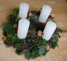 Image result for make a child's advent wreath