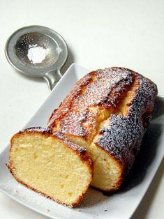 Tejfölös, citromos sütemény