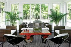 FGH Architects' Traditional Vacation Home with a Modern Twist - Chicago Home + Garden - Summer 2012 - Chicago