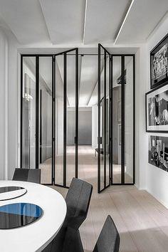 metal doors | Paris 16 by Bernard Touillon