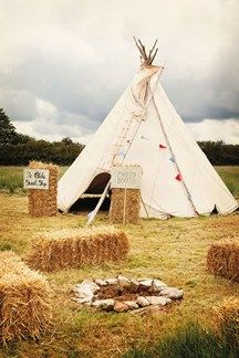 As featured in BridesMagazine.co.uk's Top 100 wedding venues in the UK, Cornish Tipi Weddings is a magical spot with a ceremony pavilion (BridesMagazine.co.uk)